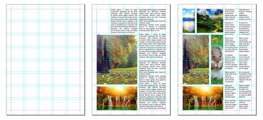 модульная сетка журнала